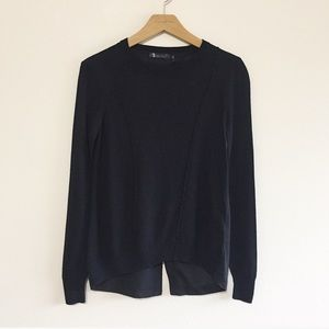 Nordstrom Daisy Fuentes Black Sweater